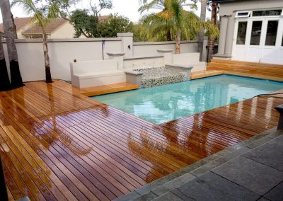 Garapa Pool Deck