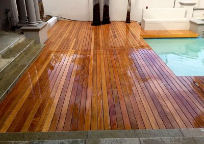 Garapa Pool Deck