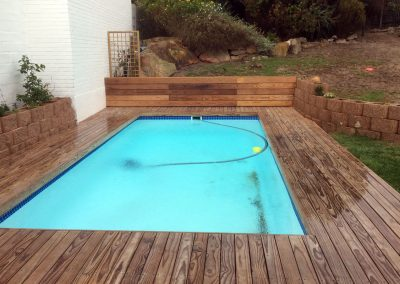 Rhino Wood Pool Deck