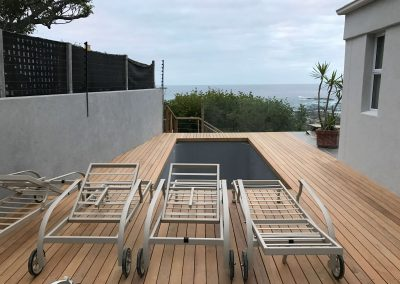 Camps Bay Villa - Garapa Deck