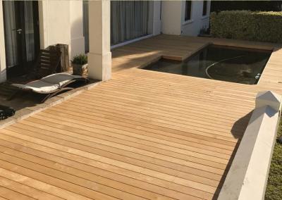De Zalze - Garapa Pool Deck
